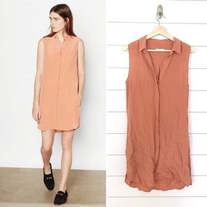 Equipment Femme 100% Silk Lanie Dress Desert Sand